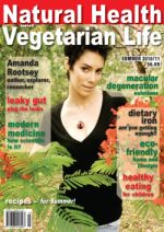 Natural Health & Vegetarian Life Cover