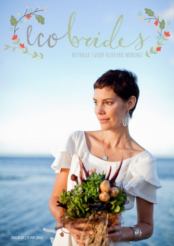 Eco Brides Magazine Inaugural Issue Cover