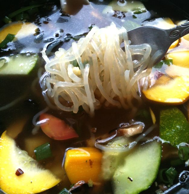 Veggie Soup with SlimPasta