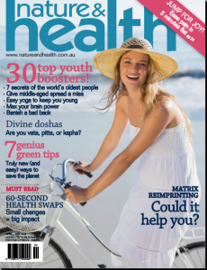 nature and health april 2016
