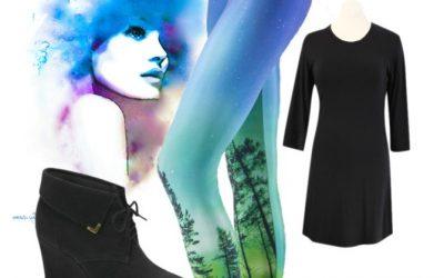 Winter Fashion: A pop of colour